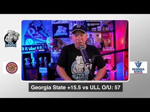 Georgia State vs Louisiana 9/19/20 Free College Football Pick and Prediction  CFB Tips