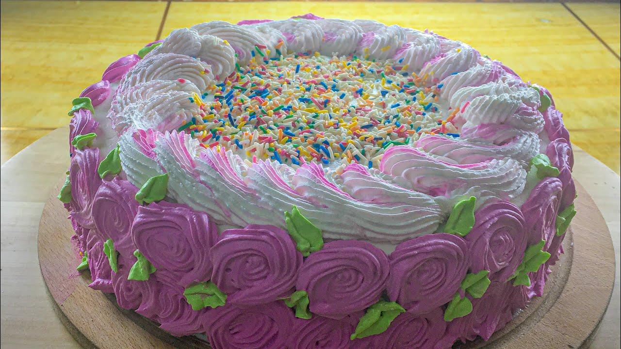 Supereasy Birthday Cakerecipe Bbc Good Food