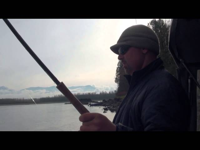 How To catch Chum Salmon with Jigs- Fishing With Bent Rod