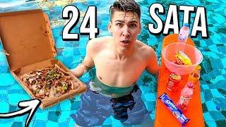 24 SATA U BAZENU CHALLENGE!! *prespavao sam*