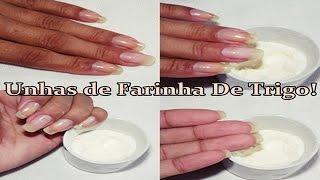 Unhas Grandes Com Farinha De Trigo - POR- Fernanda