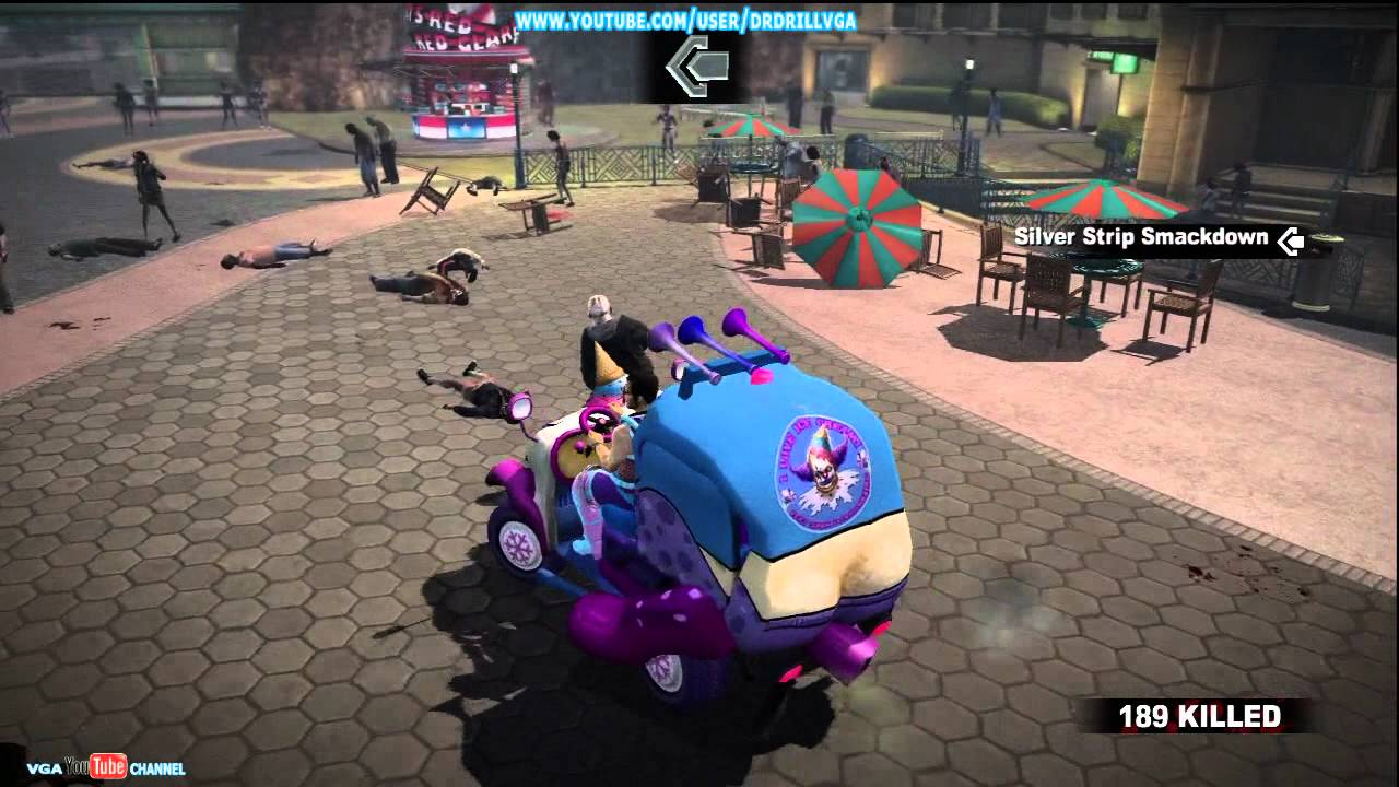 Dead Rising 2 Off The Record Clown Car Gameplay Xbox 360 Hd Youtube