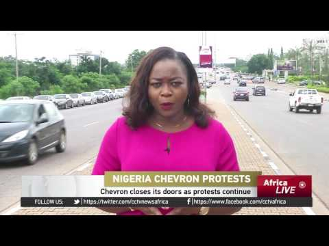 Chevron Closes Its Doors In Nigeria As Protests Continue