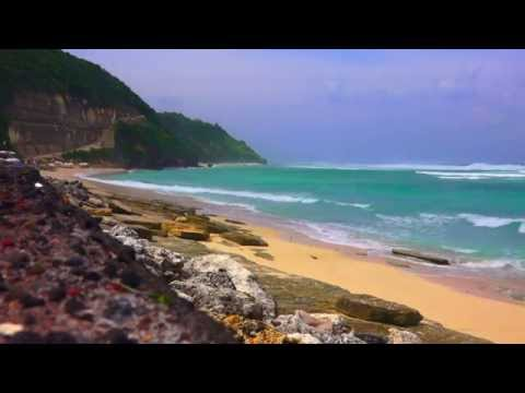 Relax 1 Hours - Relaxing Nature Sounds - Sleep-Water Sounds-pandawa beach bali INDONESIA