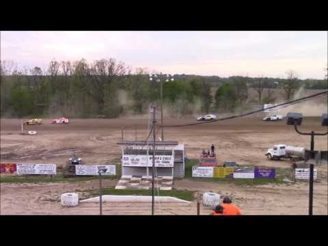 Butler Motor Speedway UMP Modified Heat #1 5/13/17