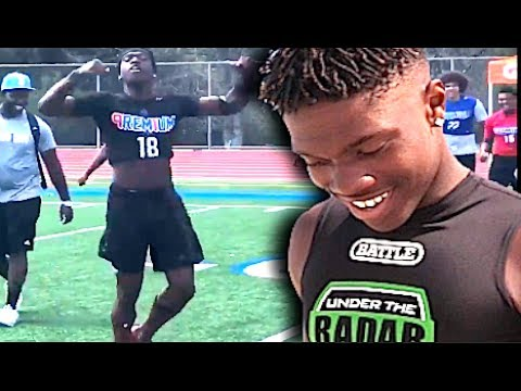 🔥 Fastest 8th Grader In The World ? Elisha Lloyd '21 (4.37 Forty Yd Dash) San Diego (CA) | Spotlight