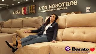 Vídeo: Sofá Chaise Longue ANELKA