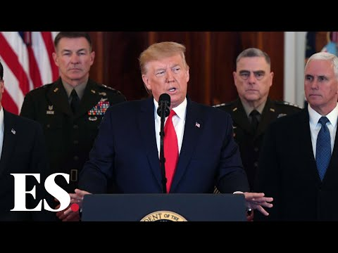 """Iran news: Donald Trump says US will """"embrace peace with all who seek it"""""""