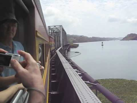 The Panama Canal Railway