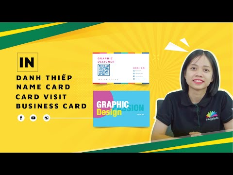 Giới thiệu về in Name Card (Danh Thiếp, Card Visit, Business Card) tại THẾ GIỚI IN ẤN