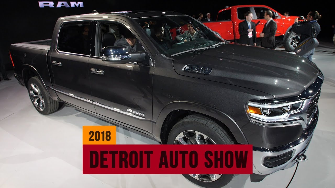 2019 Ram 1500 serves up the latest in tech and luxury - Dauer: 118 Sekunden