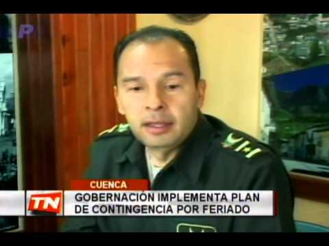 Gobernador implementa plan de contingencia por feriado