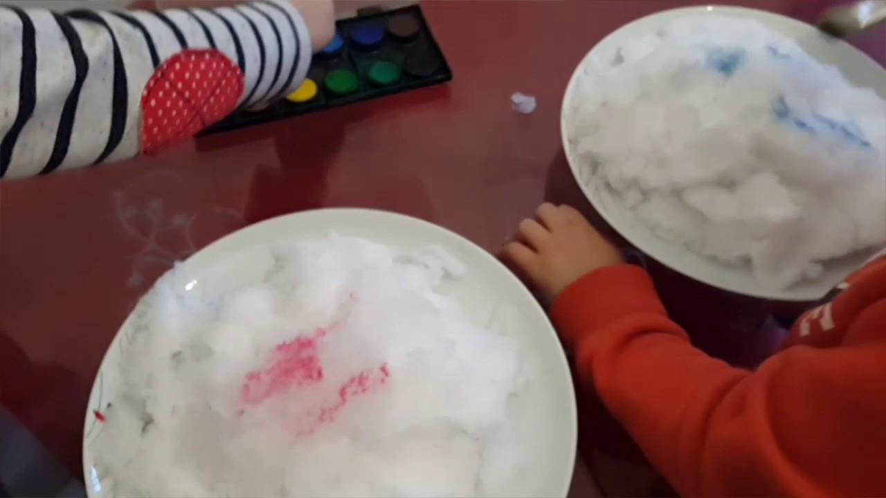 Kar Boyama Etkinliği Youtube