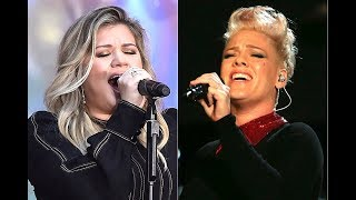 Pink and Kelly Clarkson Fight For Their Comeback