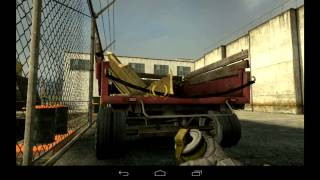 Half-Life 2 ( Android ) Mobile Walkthrough Part 2 Water Hazard