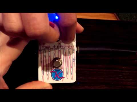 Holy Wah! It's A Keeley Neutrino Envelope Filter And Auto Wah Pedal Review