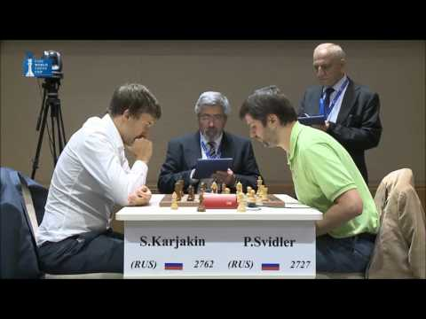Peter Svidler vs Sergey Karjakin - Final Blitz Chess Game