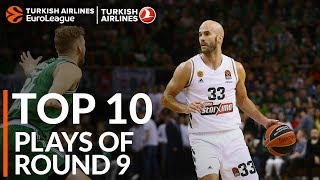 Turkish Airlines EuroLeague Regular Season Round 9 Top 10 Plays