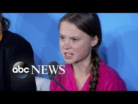 Climate activist Greta Thunberg lashes out at world leaders l ABC News