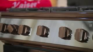 видео Плиты газовые кайзер, плита электрическая кайзер