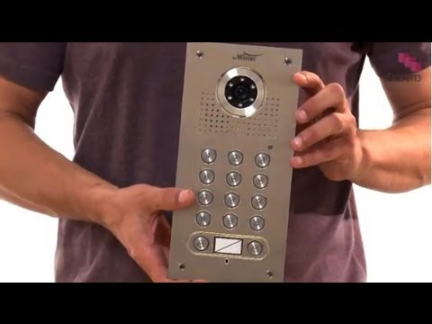 שונות התקנת אינטרקום - אינטרקום קודן ומצלמה - YouTube JL-75