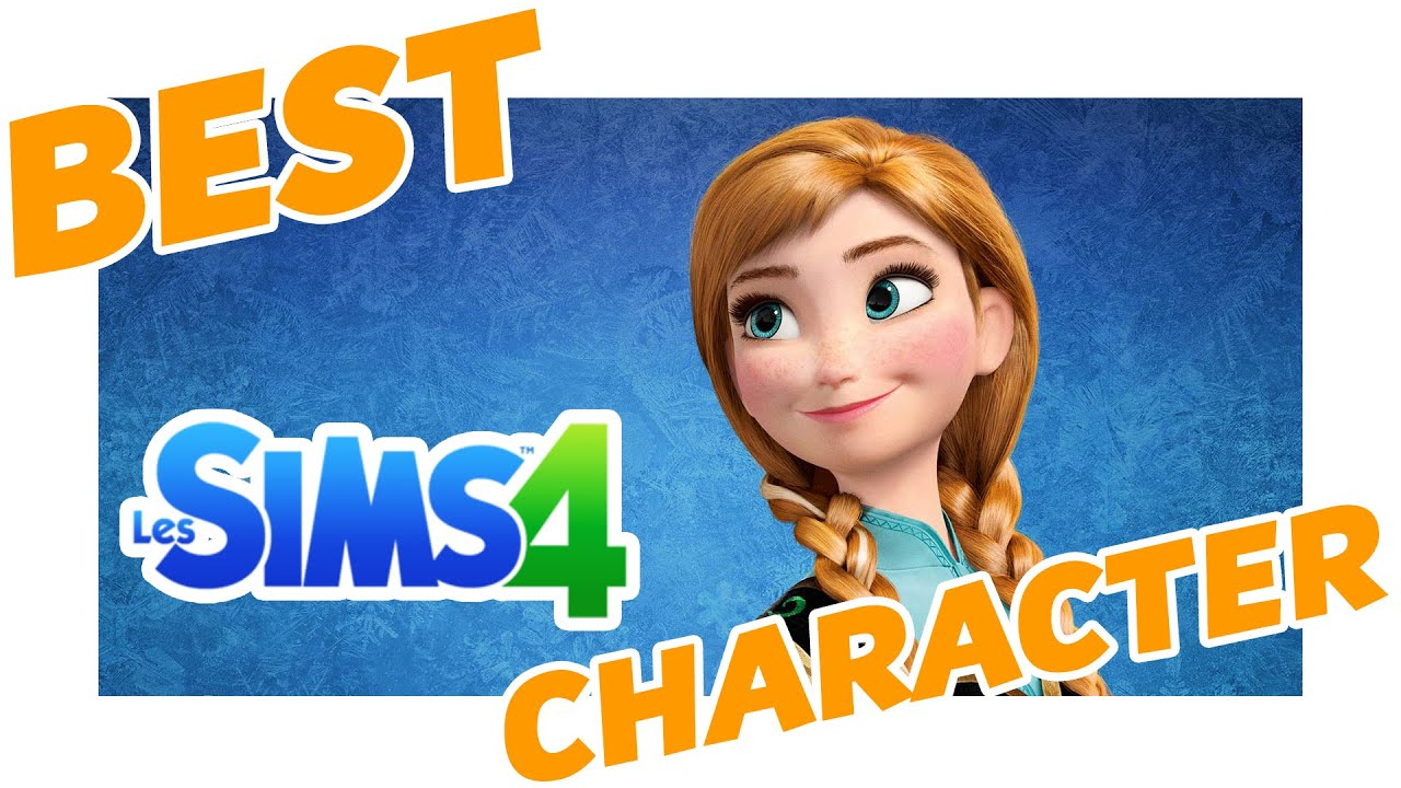 Sims 4 anna d 39 arendelle frozen la reine des neiges disney character personnage disney - Personnage de la reine des neiges ...