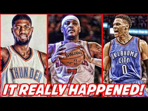 THE THUNDER ARE FINESSING EVERYBODY! GOT CARMELO ANTHONY FOR FREE!   NBA NEWS