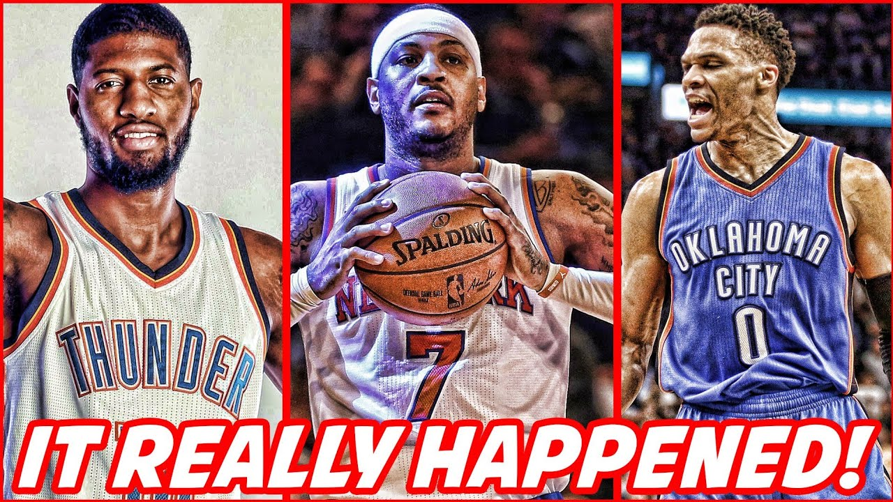 the-thunder-are-finessing-everybody-got-carmelo-anthony-for-free-nba-news