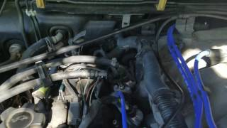 Nissan Pathfinder 3.3 Knock Sensor Relocation (Part 1)