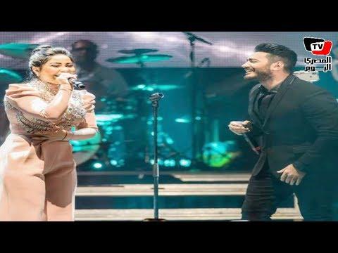 «شيرين» من السويد :«وقفتي على المسرح تاني جنب تامر حسني كانت واحشاني»  - 11:23-2018 / 2 / 23