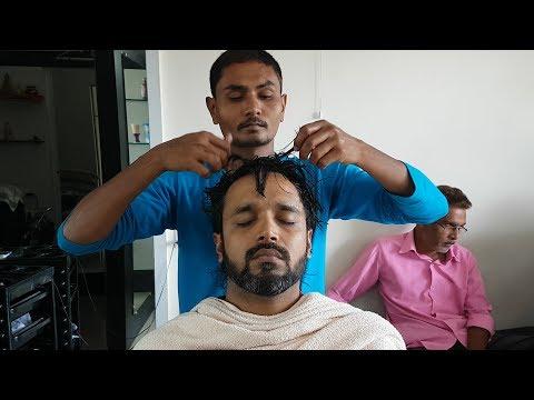 ASMR pain killer neck cracking head massage