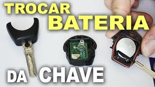 Trocar bateria da chave do carro! CR2016