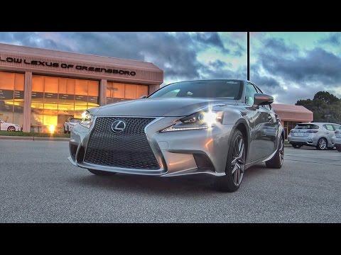 NEW 2016 Lexus IS200t FSport Walkaround & Review