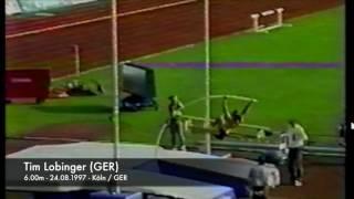 Tim Lobiger (GER) - 6.00m - 24.08.1997 - Köln/GER