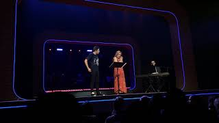 The Cast of #BeMoreChill Sings Cut Songs from the Show at #ThePostShowHang