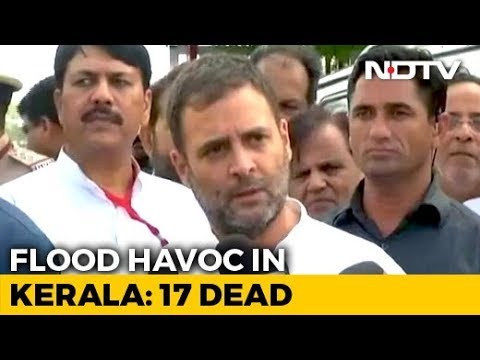 'Will Reach Out To PM': Rahul Gandhi On Floods In His Kerala Constituency