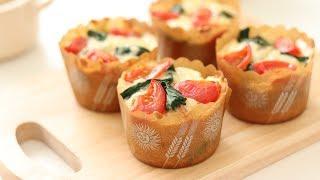 Cheese Muffin|HidaMari Cooking