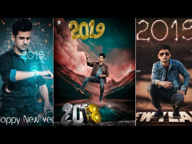 PicsArt happy new Year Manipulation Editing || Bye 2018 hello 2019 || New Year special