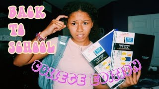COLLEGE SCHOOL SUPPLIES HAUL 2019 // Suly Solano