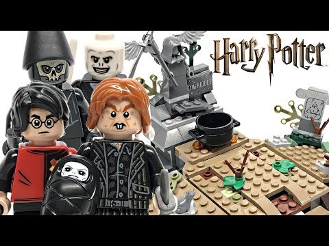 LEGO Harry Potter The Rise of Voldemort review! 2019 set 75965!