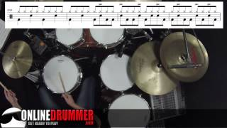 Drum Lesson - Rock And Roll by Led Zeppelin