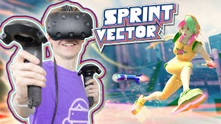 THE ULTIMATE COMPETITIVE VR GAME | Sprint Vector (HTC Vive Gameplay)