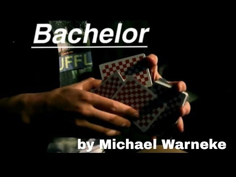 //BACHELOR//Cardistry Tutorial by Michael Warneke brought to you by ShuffleAvenue