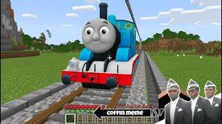 I Found Thomas The Tank Engine In Minecraft - Coffin Meme
