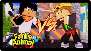 Minecraft : NÓS BRIGAMOS FEIO !!!  - FAMÍLIA ANIMAL #39