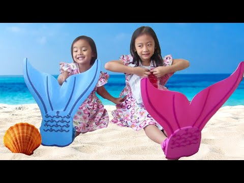 Mermaid Package and Magic Balloon - Mermaid Tail and Magic Water Balloon