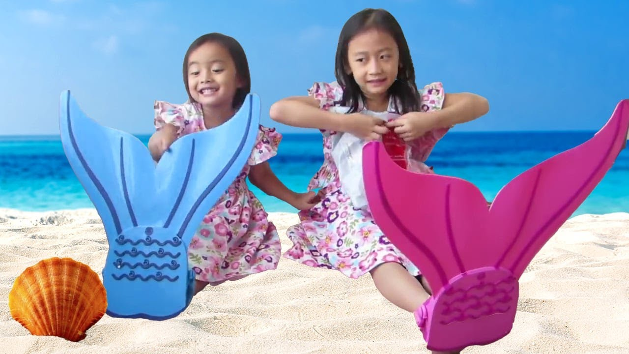 Pretend Play Mermaids For Kids Mermaid And Magic Water Balloon