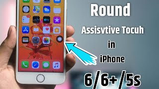 Install iPhone X Round Assistive Touch in iPhone 6/6+/5s.How to Get iPhone X like Rounded Assistive screenshot 2