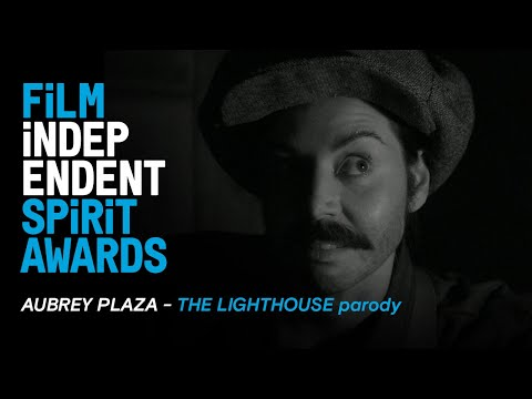 Aubrey Plaza & Michael Shannon Are Wickies - THE LIGHTHOUSE Parody | Film Independent Spirit Awards