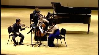 DVORAK Piano Quartet in E-flat major, Op. 87 (Ravinia Steans Music Institute)